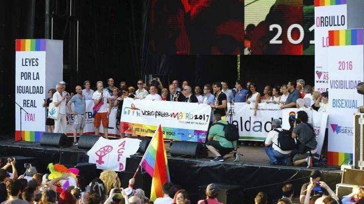 Escenario del Orgullo LGTB