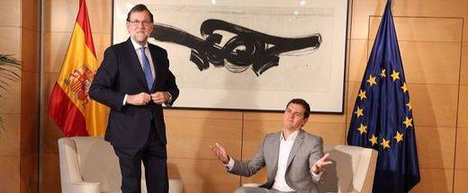 Rajoy volverá a presionar a Rivera para abrir una negociación política sobre la investidura