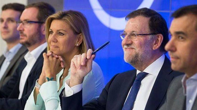 El PP no quiere ni oír hablar del paso atrás de Rajoy que insisten en proponer desde fuera