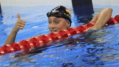 Mireia Belmonte aspirará a otra medalla tras llegar a la final de 200 mariposa