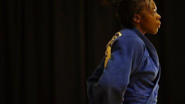 Judoca María Bernabéu