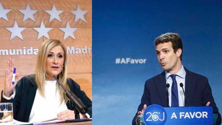 Cifuentes y Casado avanzan que votarán 'sí' a Ciudadanos en el Comité Ejecutivo del PP