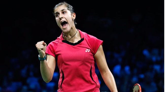Badminton: nueva victoria fácil de Carolina Martín, que supera la fase de grupos