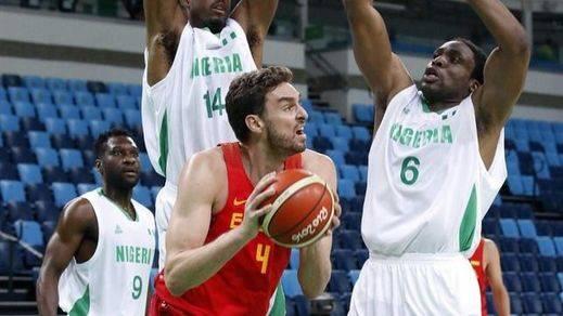 Los chicos de Gasol siguen jugando mal, pero ahora saben ganar: Nigeria les hace sufrir antes de caer (96-87)