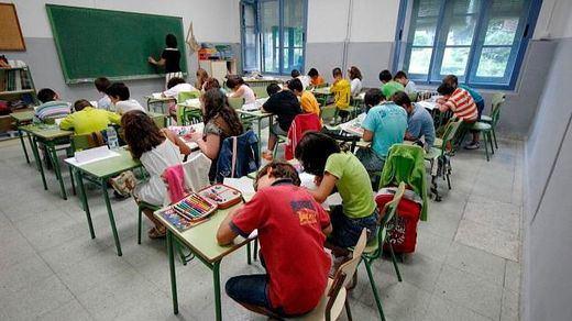 El Gobierno del PP recortó el gasto en Educación hasta niveles de 2005