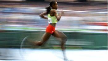 Atleta etíope Almaz Ayana, oro y récord del mundo en 10.000 metros