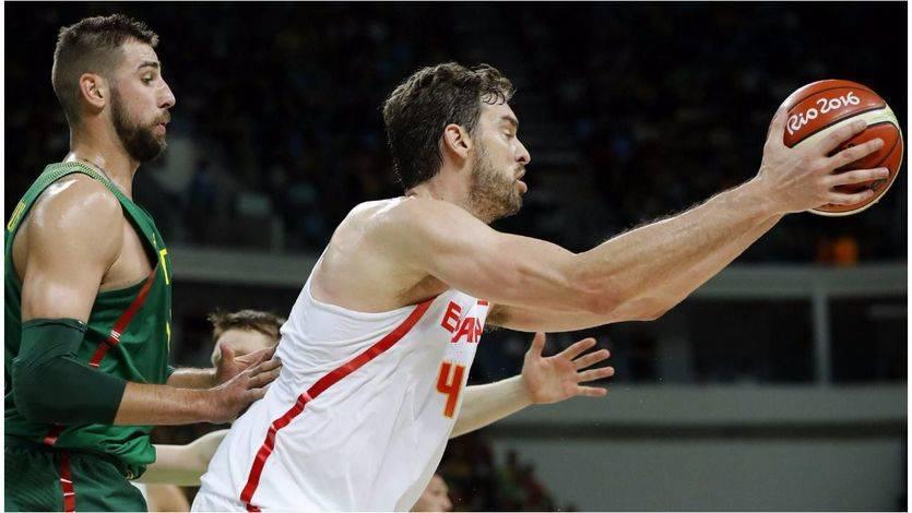 España revive y Lituania paga los platos rotos encajando una gran paliza 'olímpica' (109-59)