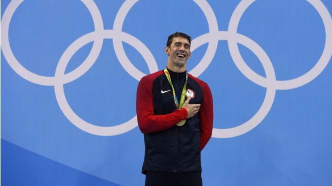Phelps, más mítico todavía, se despide de los Juegos con su sexto oro en Río