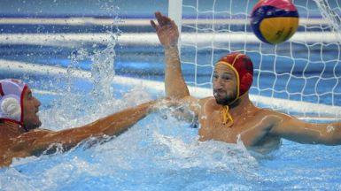 Los chicos del waterpolo cumplen: empate ante Montenegro y, a cuartos de final (9-9)