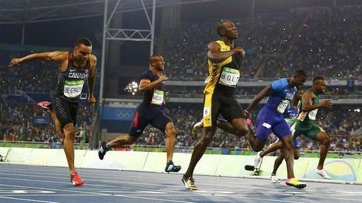 Usain Bolt volvió a ser el hijo del viento: oro en los 100 metros por delante de Gatlin