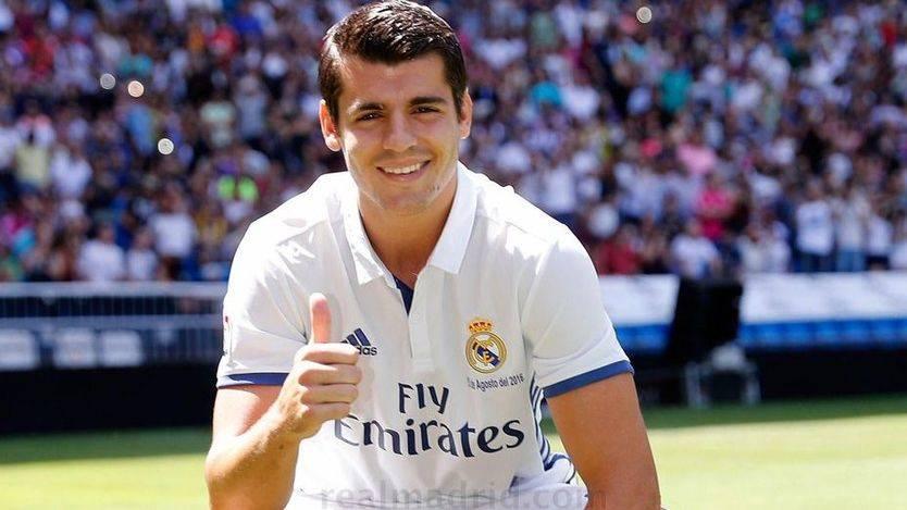 El Real Madrid presenta a su hijo pródigo Morata con honores de gran fichaje