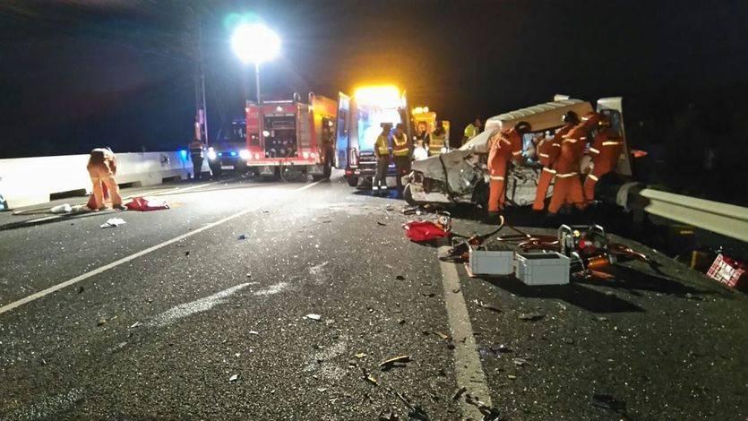 Una tragedia que aumenta: 17 muertos en carretera el puente de agosto, la cifra más alta de los últimos años