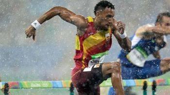 Otra medalla más: Orlando Ortega logra la plata en 110 metros vallas