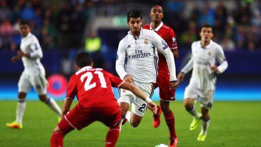 El Madrid se lleva su Trofeo Bernabéu ante el Stade pero no despeja dudas (5-3)