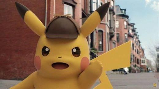 Detective Pikachu, protagonista de la nueva película de Pokemon
