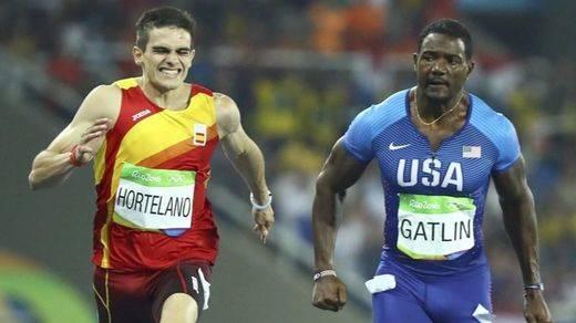 Bruno Hortelano se queda sin la final de los 200 metros lisos