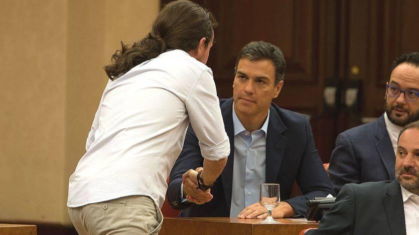 Sánchez confirma contactos con Pablo Iglesias pero echa balones fuera: 'Es tiempo de Rajoy'