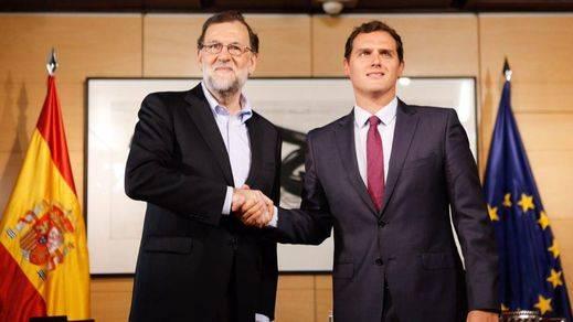 Rajoy y Rivera, mismos rostros, pero distintas caras: cuarta reunión con menos sonrisas que hace una semana