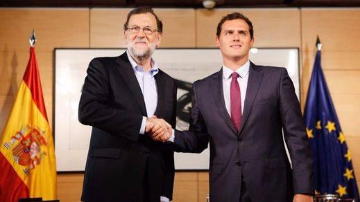 Rajoy, más cerca de lograr el 'sí' de Ciudadanos tras aceptar las 6 condiciones sobre corrupción
