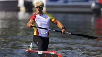 Benavides se queda sin medalla por tan sólo 2 centésimas en C-1 200 metros