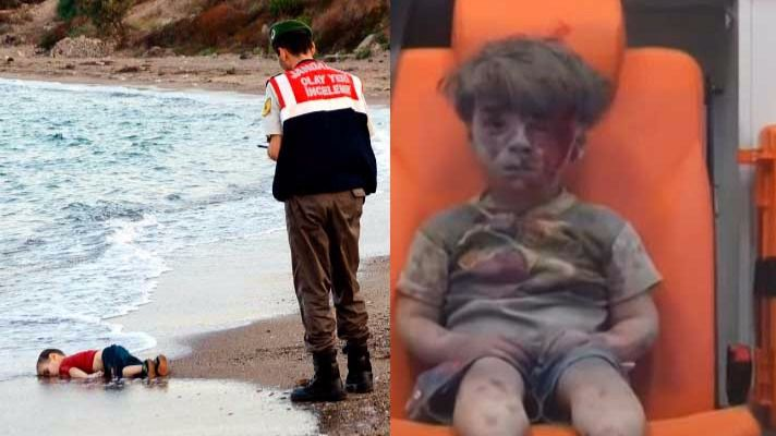 Removiendo conciencias: otro niño convertido en icono del horror