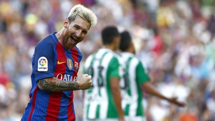 El Barça inicia como acabó: asustando tras hacerle un set al Betis (6-2)