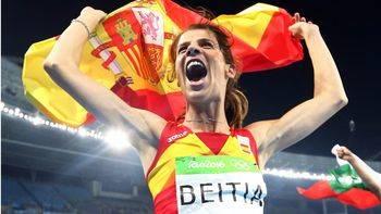 Un salto de oro: Ruth Beitia se cuelga por fin la medalla que se le resistió hace cuatro años