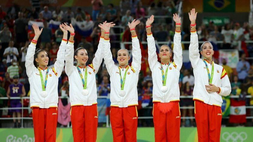 La gimnasia rítmica se cuelga en Río la plata 20 años después de la histórica medalla de Atlanta