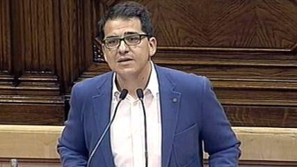 El vicepresidente del Parlamento catalán (C's) acusa a JpS y Cup de