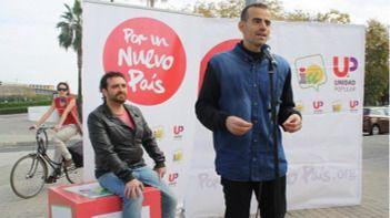 Un diputado de IU se suma a una huelga de hambre contra los recortes sanitarios andaluces