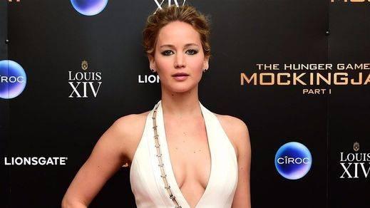 Medalla de oro para Jennifez Lawrence, la actriz mejor pagada del mundo según la revista 'Forbes'