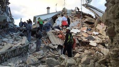 Un terremoto sorprende a Italia y causa m�s de 70 muertos y centenares de heridos