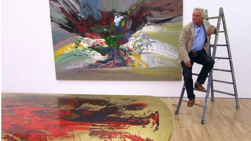 Palomo Linares debuta en Ibiza... como pintor de éxito