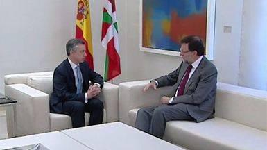 El PNV explica a Rajoy que su 'no' seguir� siendo 'no' tras el 25-S
