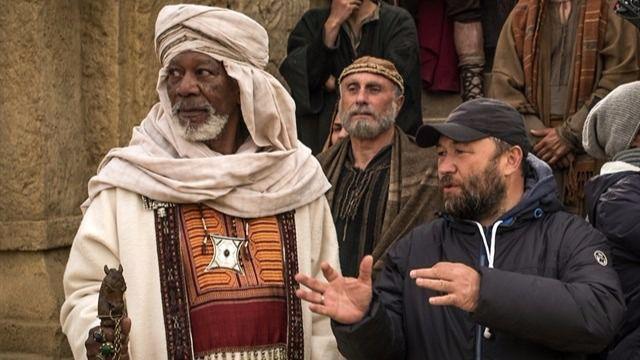 Morgan Freeman, leyenda viva del séptimo arte, interpretará a 'Ilderim' en el remake de 'Ben-Hur'