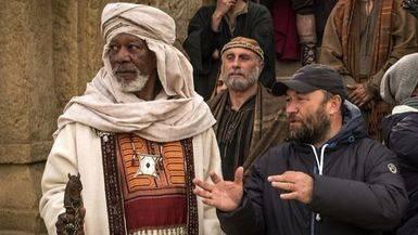 Morgan Freeman, leyenda viva del s�ptimo arte, interpretar� a 'Ilderim' en el remake de 'Ben-Hur'