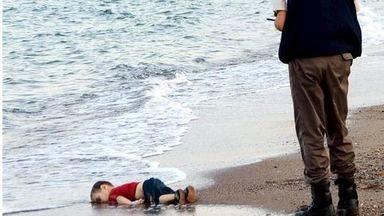 Refugiado menor de 3 a�os ahogado en el Mediterr�neo