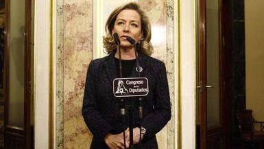 Ana Oramas, diputada de Coalici�n Canaria.
