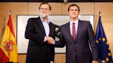 Rajoy y Rivera entran en la negociaci�n para desbloquear el acuerdo de investidura