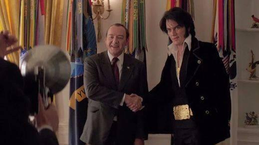 'Elvis & Nixon': Una caricatura muy divertida pero poco creíble