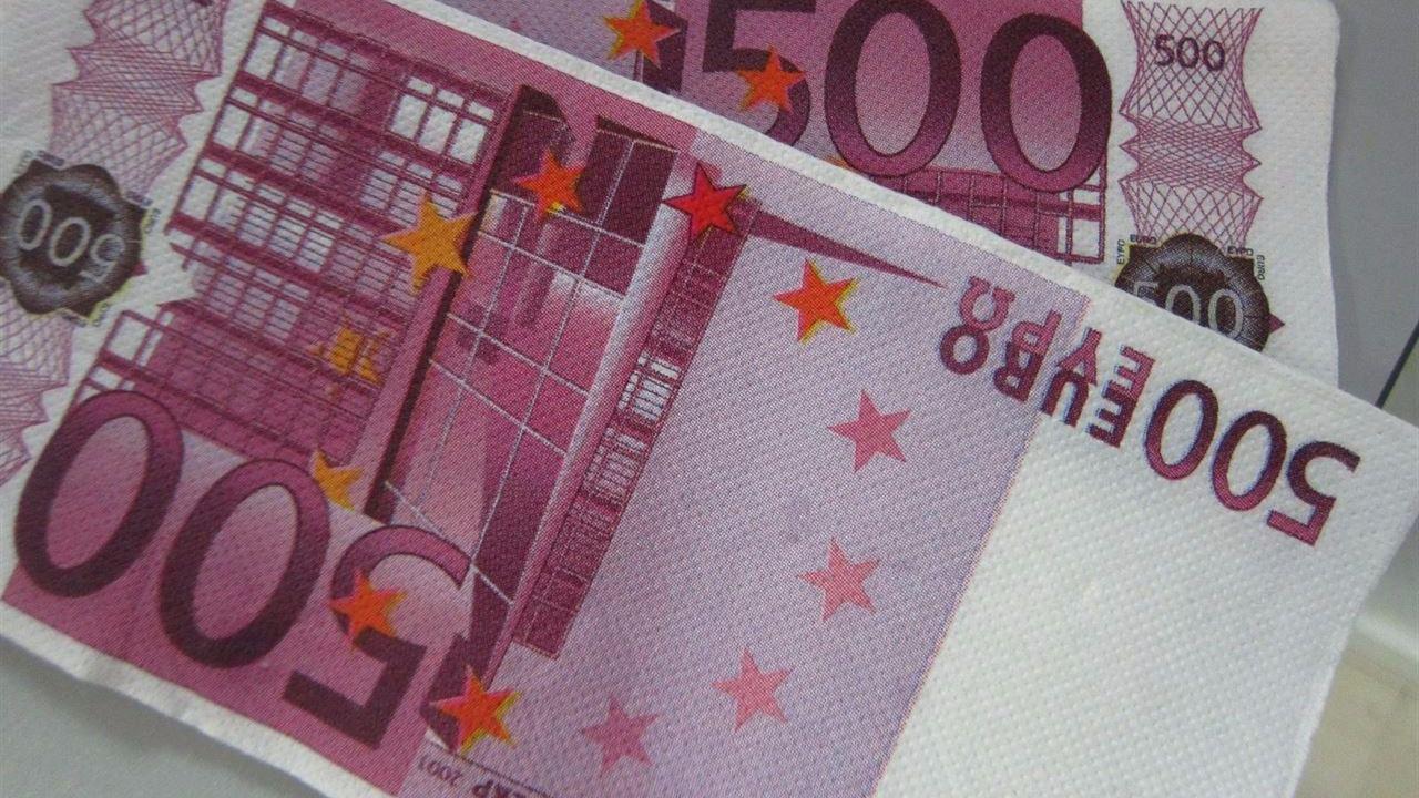 Los billetes de 50 euros suben a máximos históricos mientras caen en picado los 'Bin Laden'