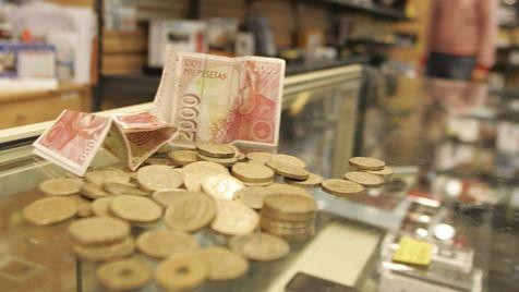Los españoles tienen aún 1.646 millones de euros en pesetas sin canjear y el plazo tope se acerca
