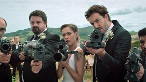 'Cuerpo de élite' derrota en su estreno a Woody Allen en el mejor viernes del año para el cine español
