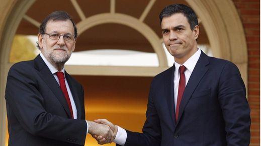 > Twitter (des)califica el encuentro entre Rajoy y Sánchez