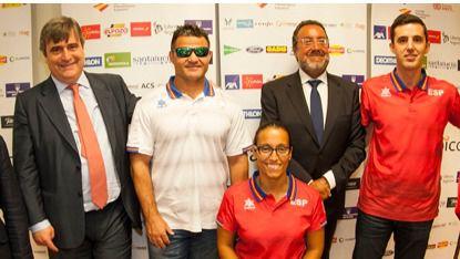 Los paralímpicos, 'ejemplos' y 'embajadores' de España, marchan camino a Río