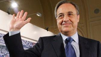 Optimismo a tope de Florentino Pérez: piropea a su