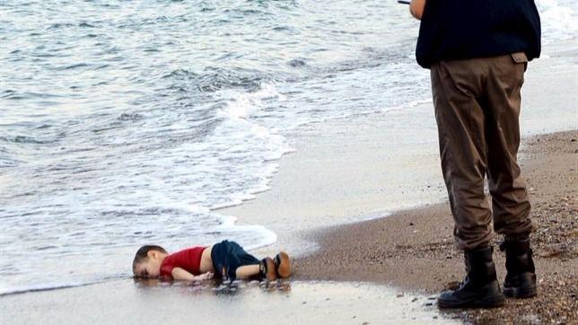 Refugiado menor de 3 años ahogado en el Mediterráneo