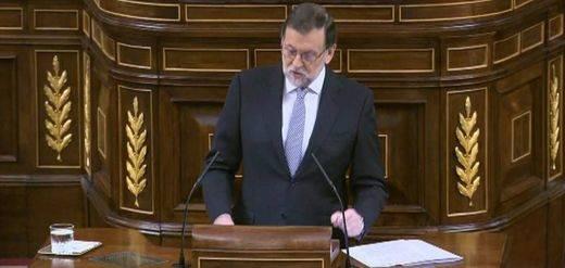 La segunda votación para la investidura de Rajoy registra el mismo resultado que la primera, 170 síes y 180 noes