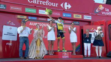 Gesink se corona en el Aubisque y Nairo y Froome descuelgan a Contador