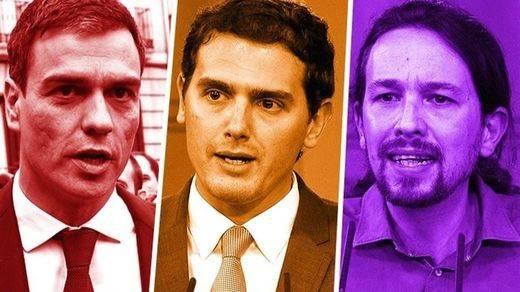 El acuerdo imposible que intenta Sánchez sólo por supervivencia: Ciudadanos y Podemos se repelen